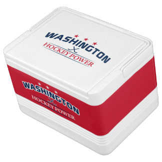 Washington Hockey Power 12 Can cooler