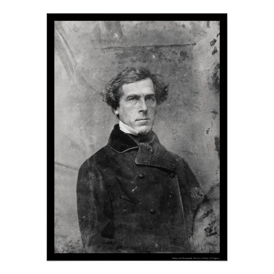 Washington Hunt Daguerreotype 1850 Poster