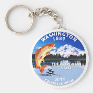 Washington Keychain