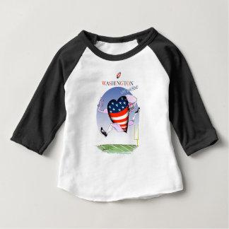 Washington loud and proud, tony fernandes baby T-Shirt