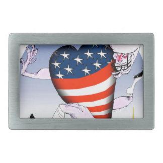 Washington loud and proud, tony fernandes belt buckle