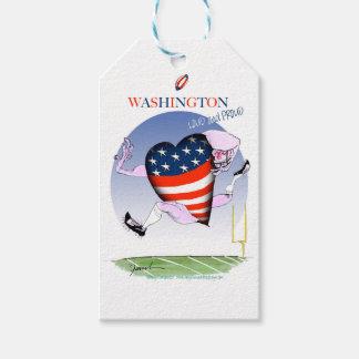 Washington loud and proud, tony fernandes gift tags