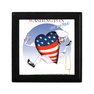 Washington loud and proud, tony fernandes keepsake box