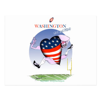 Washington loud and proud, tony fernandes postcard