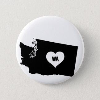 Washington Love 2 Inch Round Button