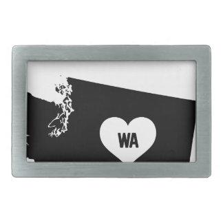 Washington Love Belt Buckle