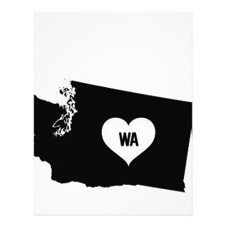 Washington Love Letterhead