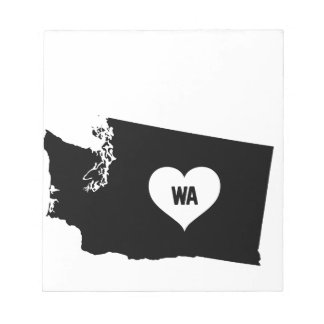 Washington Love Notepad