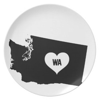 Washington Love Plate