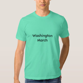 Washington March Tshirt