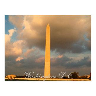 Washington Memorial Postcard