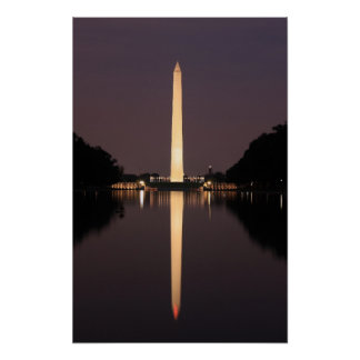 Washington monument 04 poster