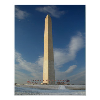 Washington Monument 11x14 Poster