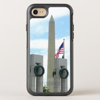 Washington Monument and WWII Memorial in DC OtterBox Symmetry iPhone 8/7 Case