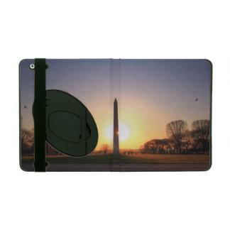 Washington Monument at Sunset iPad Cover
