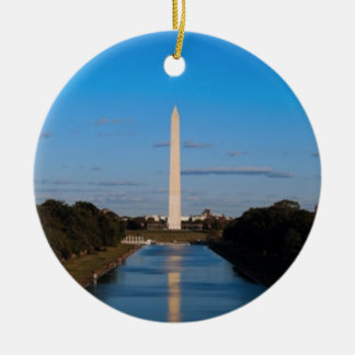 Washington Monument Ceramic Ornament