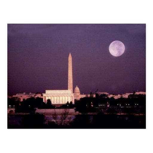 Washington Monument, the Capitol and Jefferson Postcards