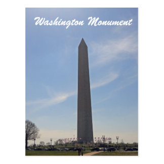 Washington Monument Washington DC 003 Postcard