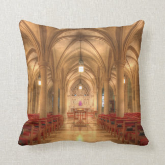 Washington National Cathedral Bethlehem Chapel Throw Pillow