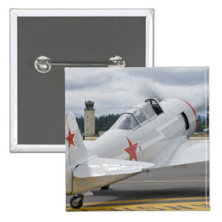 Washington, Olympia, military airshow. 6 2 Inch Square Button