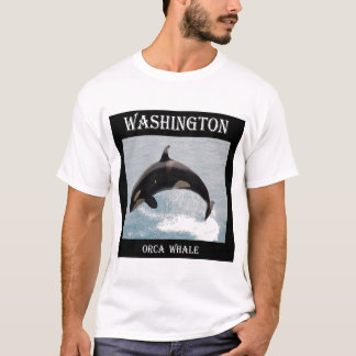 Washington Orca Whale T-Shirt