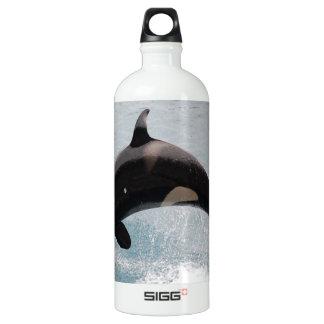 Washington Orca Whale Water Bottle