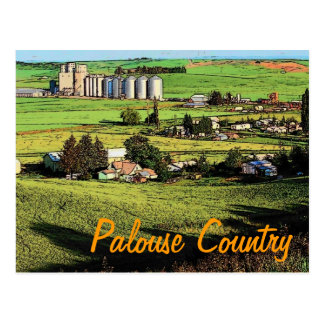 Washington Palouse Postcard