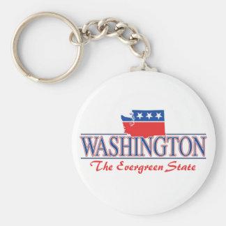 Washington Patriotic Keychain