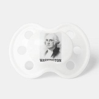 Washington pose baby pacifiers