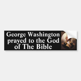 Washington Prayed Bumper Sticker