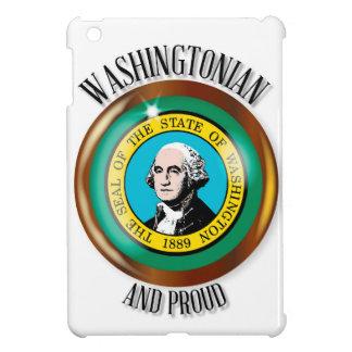 Washington Proud Flag Button iPad Mini Case