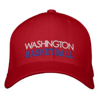 WASHINGTON Red Basketball Cap