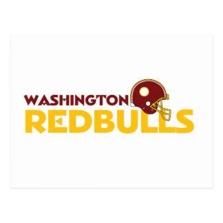 Washington Redbulls Postcard