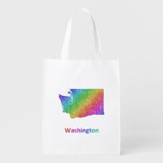 Washington Reusable Grocery Bag