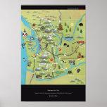 Washington Road Trips by John S. Dykes Poster