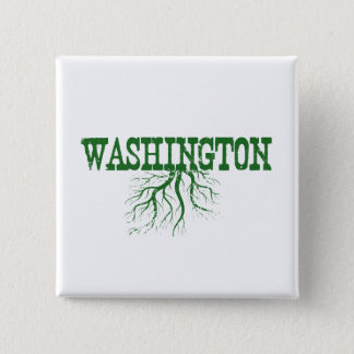Washington Roots 2 Inch Square Button