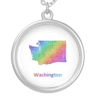 Washington Silver Plated Necklace