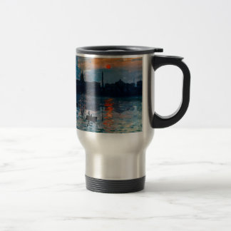 Washington Skyline1 Travel Mug