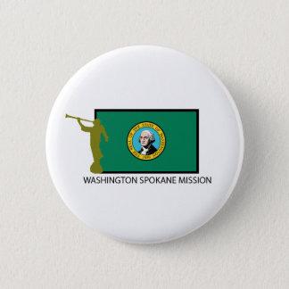 WASHINGTON SPOKANE MISSION LDS CTR 2 INCH ROUND BUTTON