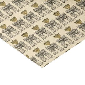 Washington Square Hanukkah Menorah NYC Holiday Tissue Paper