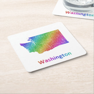 Washington Square Paper Coaster