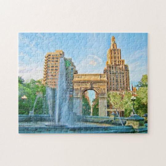 Washington Square Park, NYC Jigsaw Puzzle
