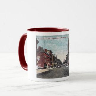 Washington St, Park Place, Morristown NJ, Vintage Mug