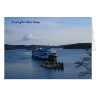 Washington State Ferry Card