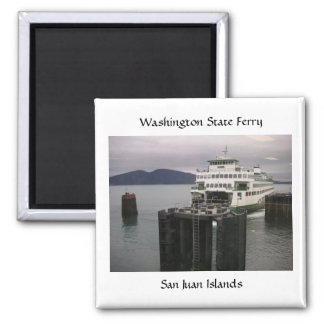 Washington State Ferry Magnet