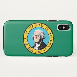 Washington state flag iPhone x case