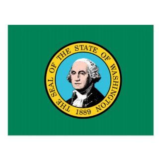 Washington State Flag Postcard