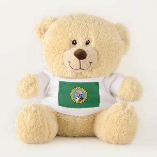 Washington State Flag Teddy Bear