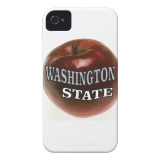 Washington state red apple Case-Mate iPhone 4 case