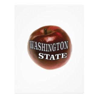 Washington state red apple letterhead
